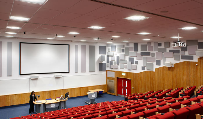 Auditorium på universitetet i Surrey